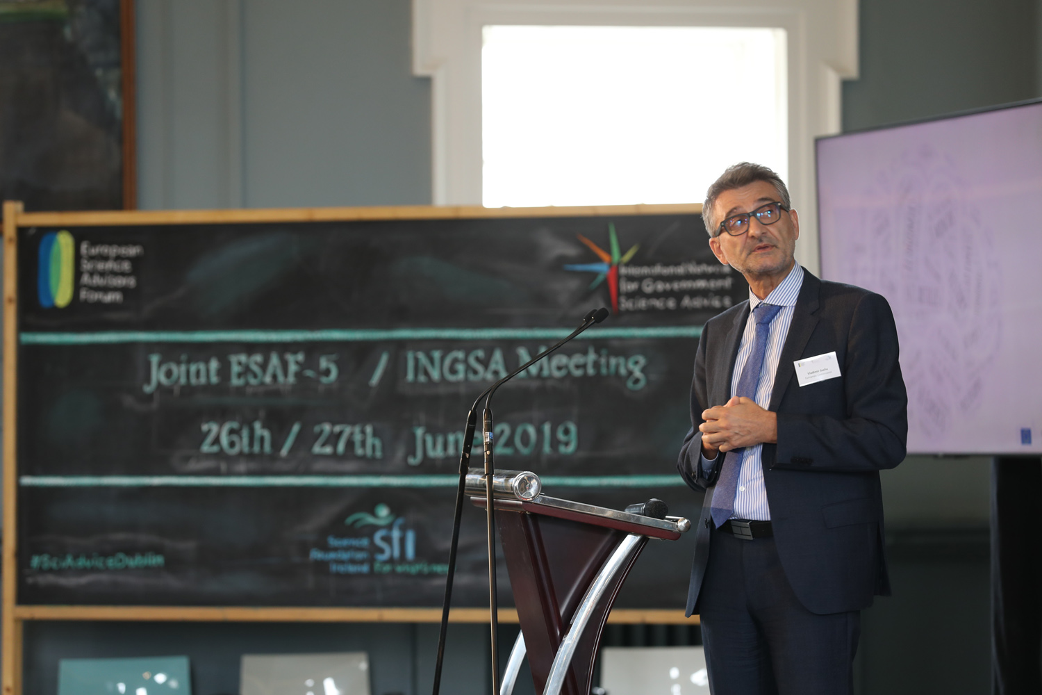 Wednesday 26th June 2019. Joint ESAF/INGSA meeting in Trinity College Dublin. Picture Jason Clarke