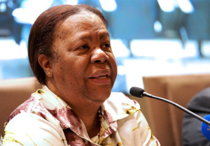 Naledi Pandor, South African Minister for Science and Technology. Photo courtesy of GCIS and GovernmentZA