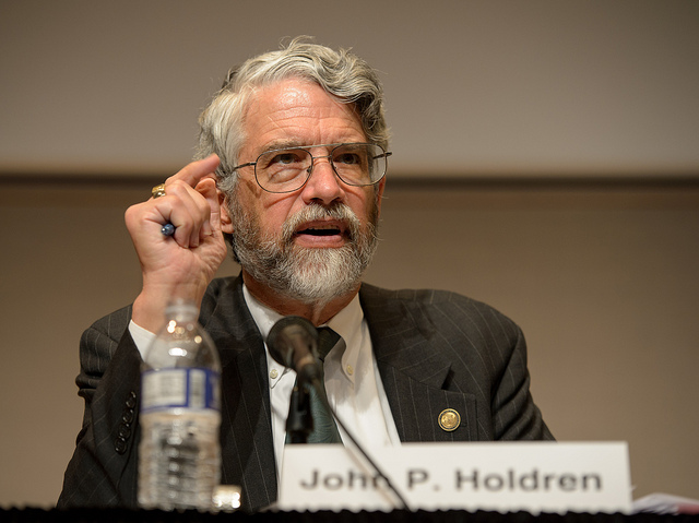 John Holdren, the White House science adviser.  Photo by NASA/Bill Ingalls